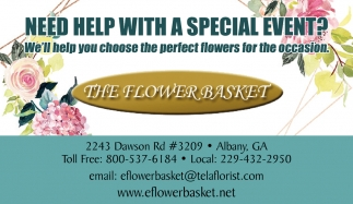 We'll help you choose the perfect flowers for the occasion