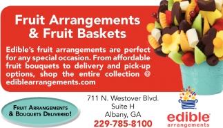 Fruit Arrangements & Fruit Baskets