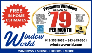 Premium Windows As Low As $79 per month