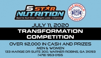 July 11, 2020 Transformation Competition