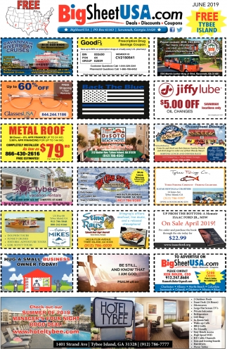 coupons for tybee island georgia