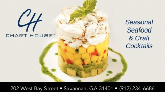 Seafood Restaurant With A Perfect View Chart House Savannah