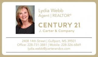 Lydia Webb, Agent
